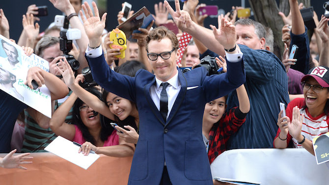 "attends ""The Imitation Game"" Premiere during"