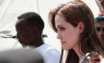 Angelina Jolie Africa cazadores marfil elefantes