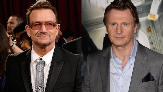 Liam Neeson y Bono quieren hacer