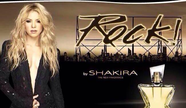 Fragrancia Shakira Rock