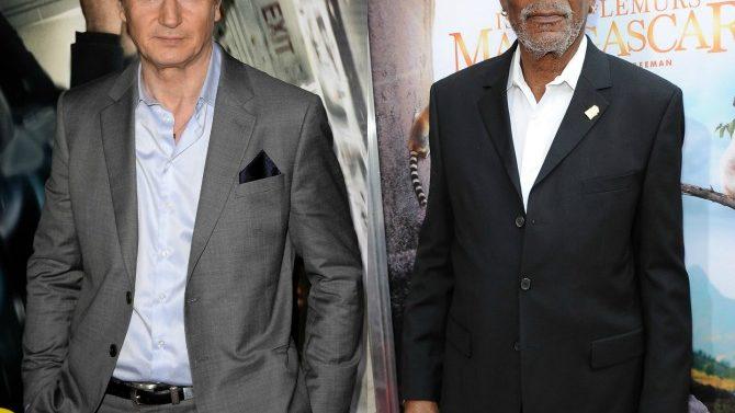 Liam Neeson y Morgan Freeman