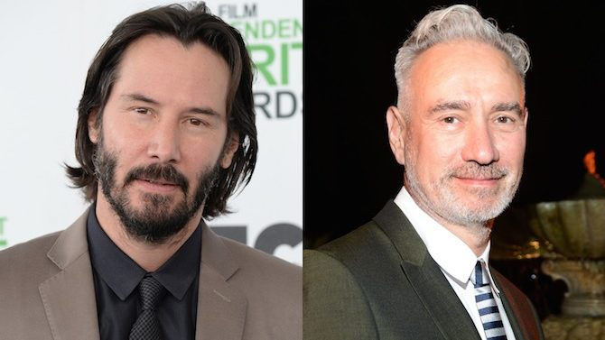 Keanu Reeves y Roland Emmerich trabajarán