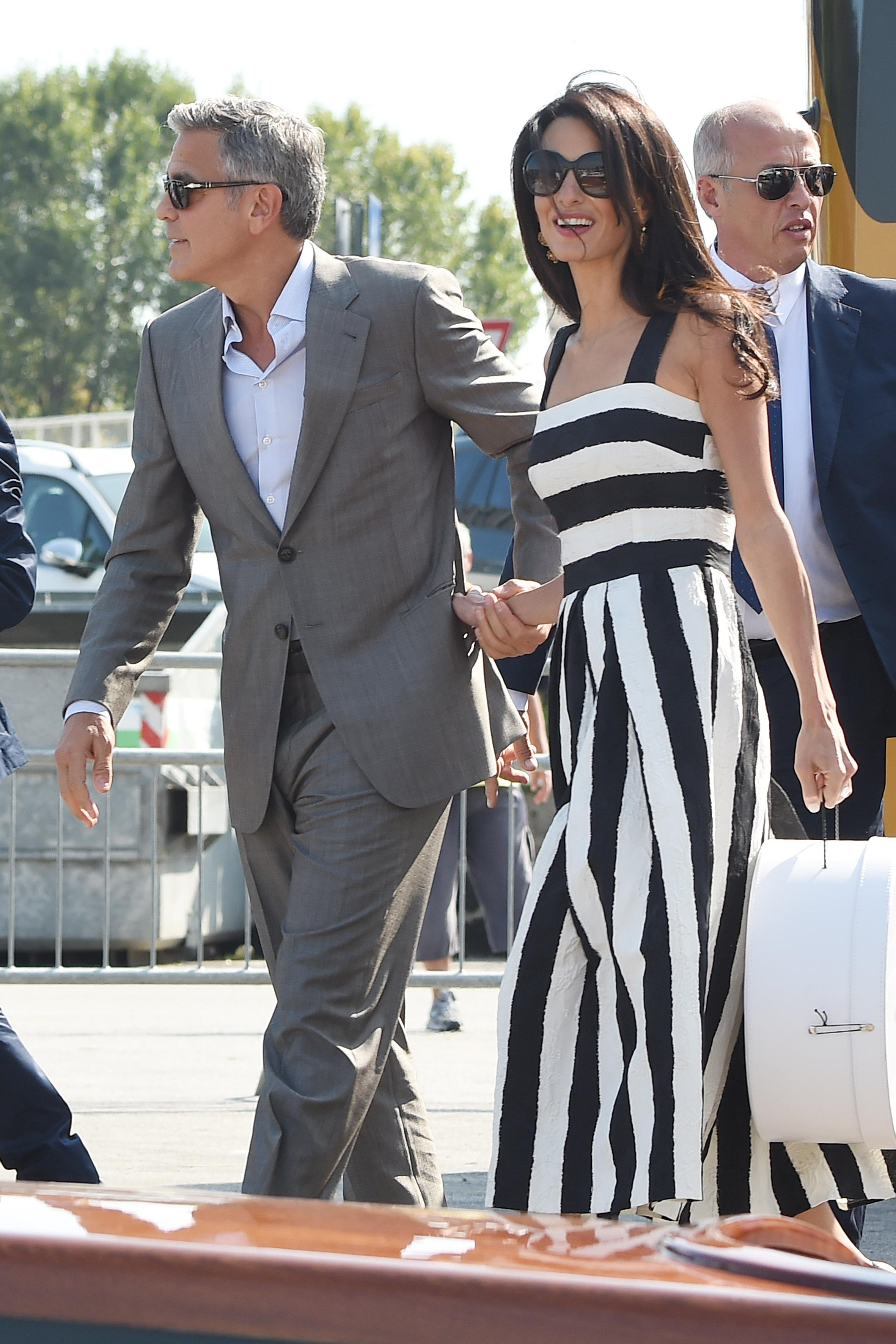 <p>No cabe duda de que Amal es una mujer bellísima y George es muy afortunado.</p>