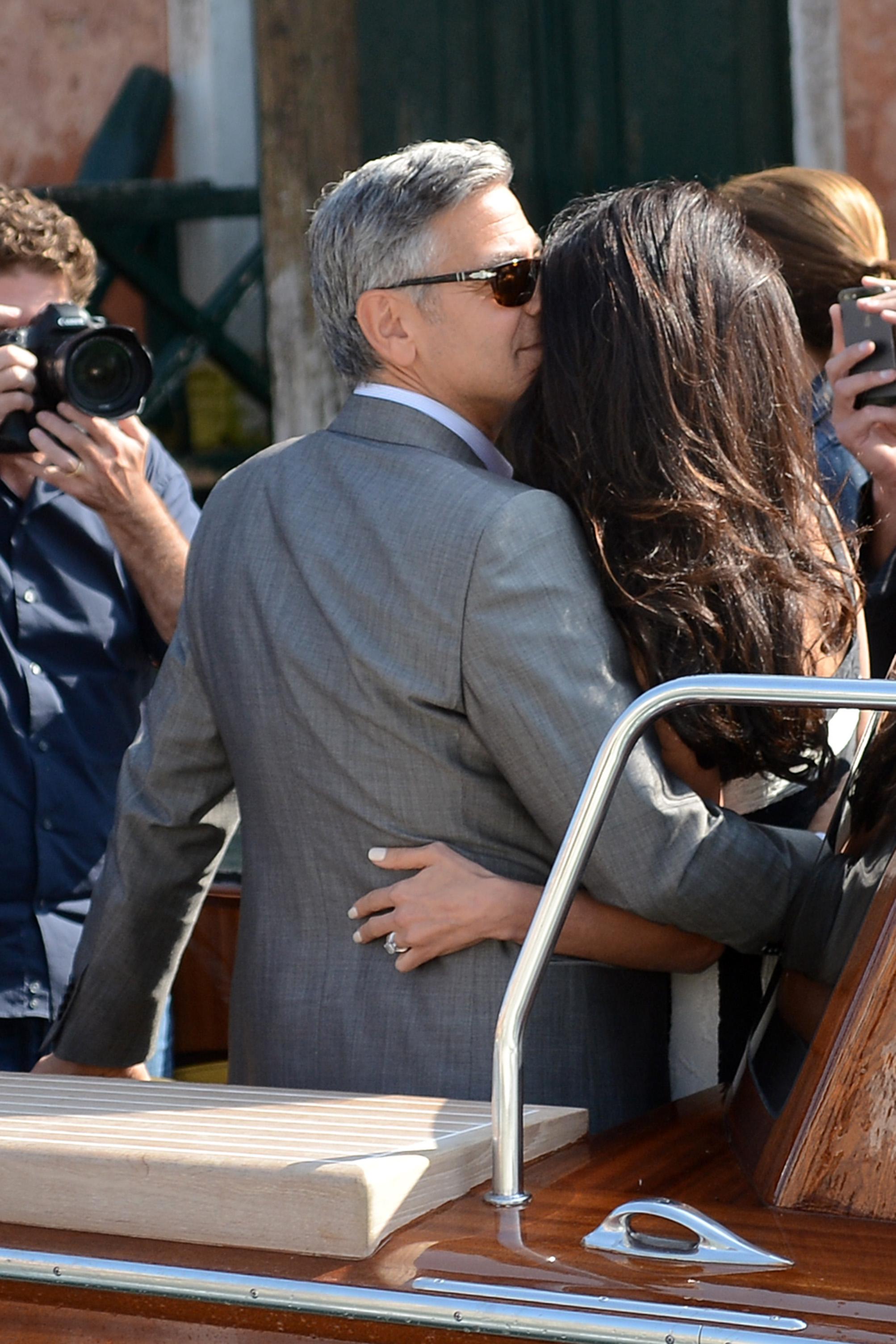 <p>No podemos esperar a ver y saber todos los detalles de la boda de George y Amal. Nunca pensábamos que este día iba a llegarpero como vemos estamos días antes de la celebración.</p>