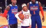 Taylor Swift Jugando Basketball New York