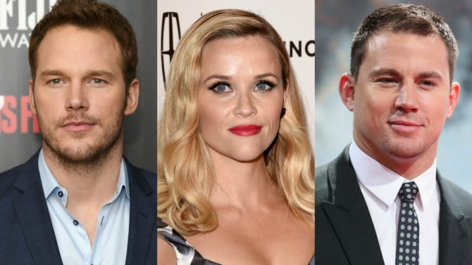 Chris Pratt y Reese Witherspoon, entre