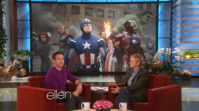 Robert Downey, Jr. confirma 'Iron Man