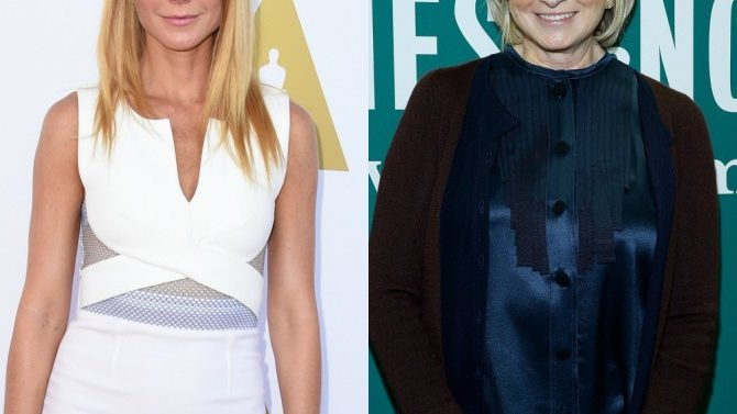 Gwyneth Paltrow Responde Criticas Martha Stewart