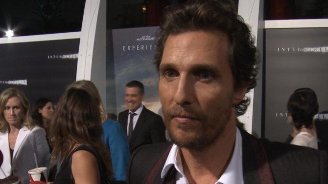 'Interstellar': Matthew McConaughey and co-stars reveal