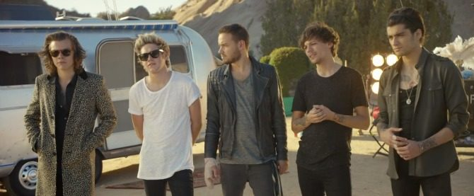 One Direction Estrena Video Steal My