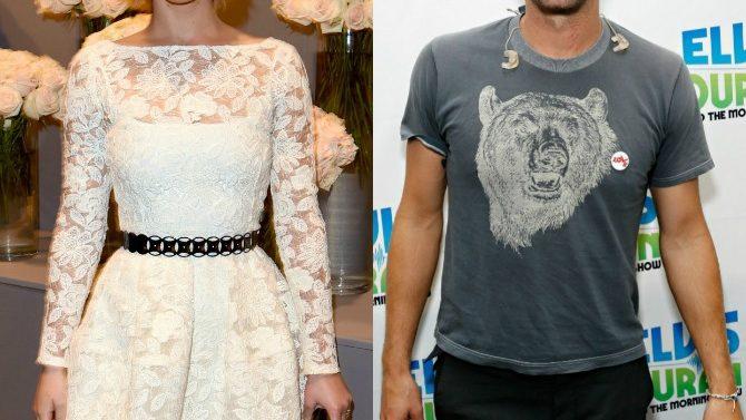 Jennifer Lawrence y Chris Martin