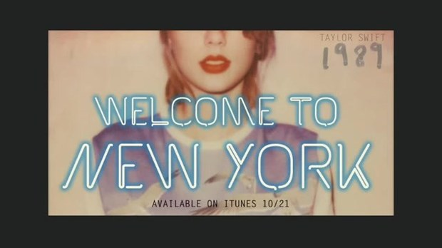 Taylor Swift Cancion Welcome To New