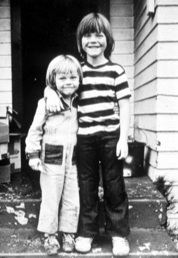 Leonardo DiCaprio & His Stepbrother Adam Ferrer