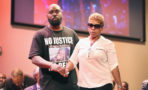 Lesley McSpadden y Michael Brown Sr.