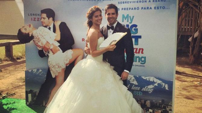 Eli Roth se casa en Chile