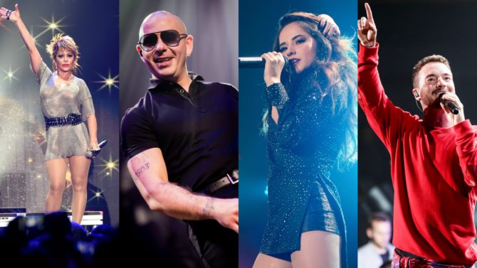 iHeartRadio Fiesta Latina: lo mejor del