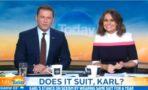 Karl Stefanovic lleva el mismo traje