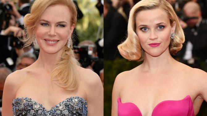 Nicole Kidman y Reese Witherspoon llegan