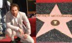 Matthew McConaughey recibe su estrella en