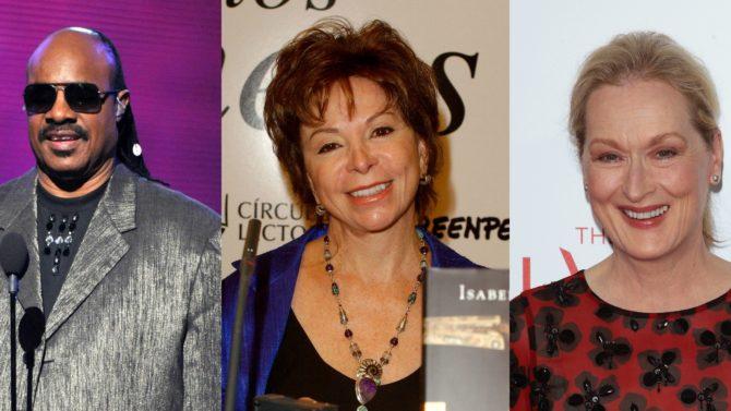Isabel Allende, Meryl Streep y otros