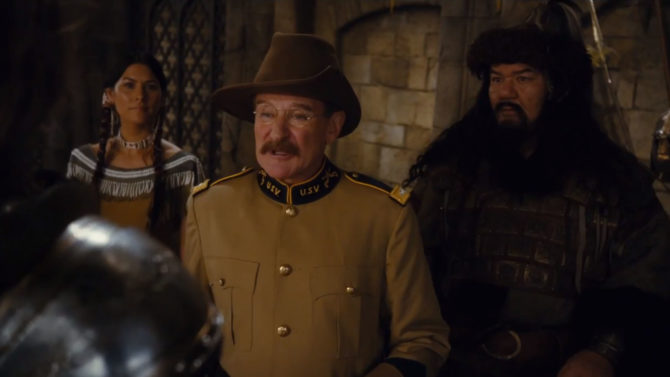 'Night at the Museum' Mira a