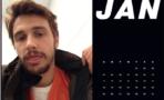 James Franco Calendario Selfies