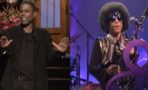 Chris Rock y Prince en SNL