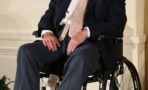 George H.W. Bush hospitalizado