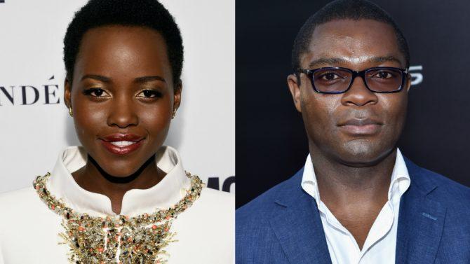 Lupita Nyong'o y David Oyelowo llegan