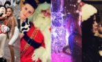 Fotos de famosos celebrando la Navidad