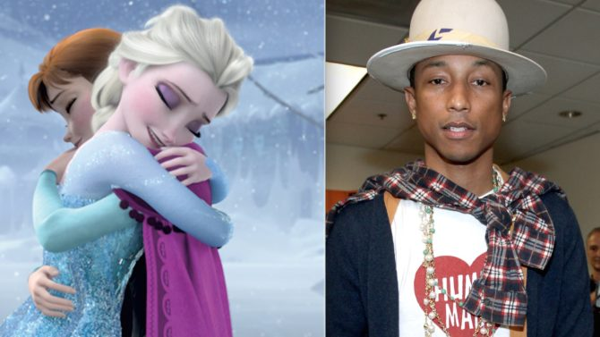 Frozen y Happy, lo más popular