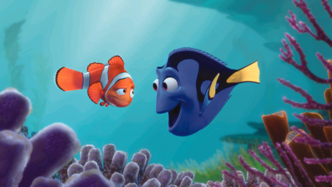 Albert Brooks as Marlin and Ellen
