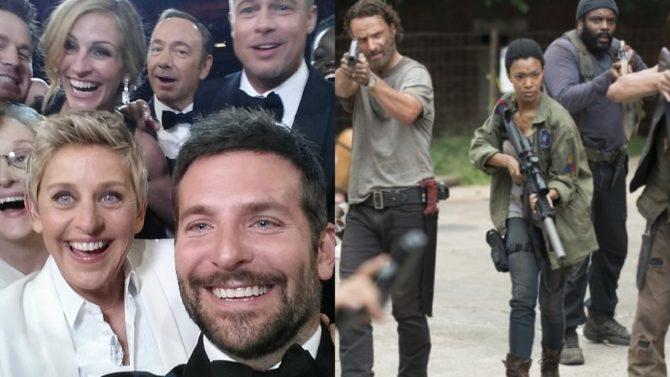'Walking Dead,' y Oscars entre los