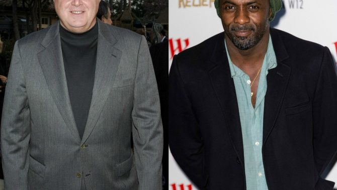 Rush Limbaugh e Idris Elba