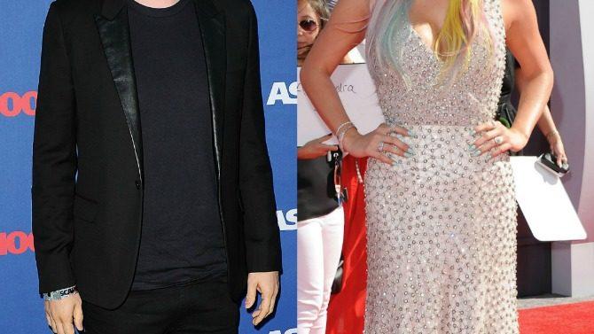 Dr. Luke y Lady Gaga