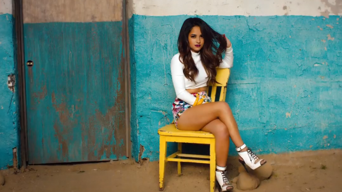 Becky G Video Cant Stop Dancin