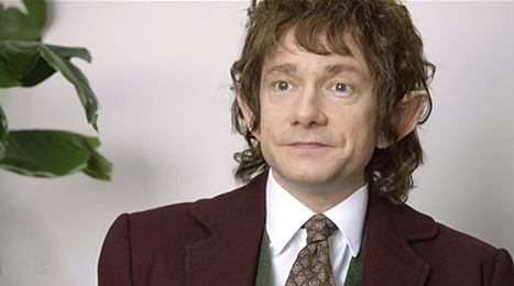 Martin Freeman Parodia The Hobbit The