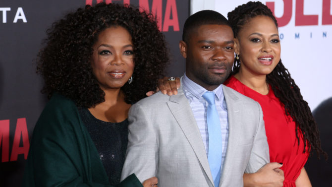 """attends the """"Selma"""" New York Premiere"""