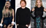 Ariana Grande, Ed Sheeran y Madonna