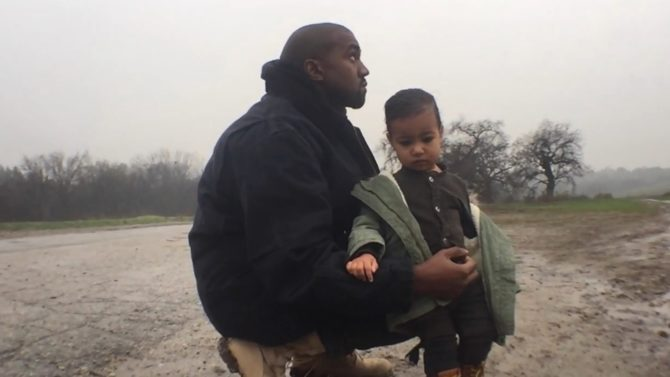 Kanye West Only One Video North