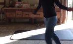 Portia de Rossi ejecitandose con Jane