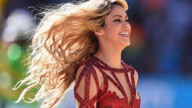 Shakira Shares New Baby Picture Sasha