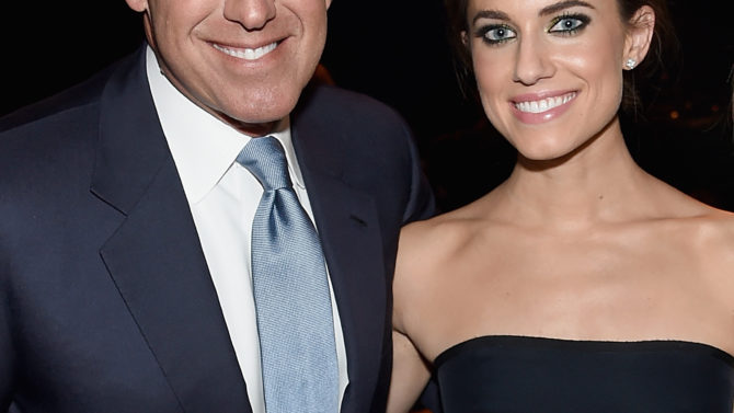 Brian Williams Allison Williams habla sobre