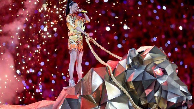 Katy Perry En Super Bowl Halftime