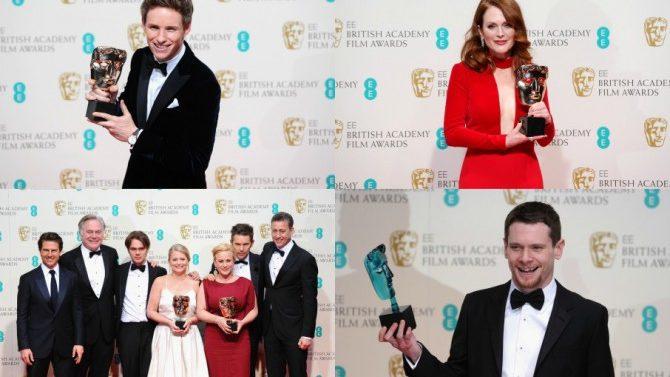 Premios BAFTA 2015: lista de ganadores