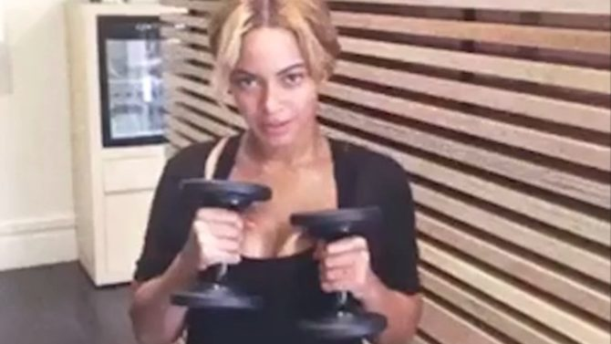 Beyoncé rutina ejercicios let's move