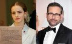 Emma Watson agradece a Steve Carell