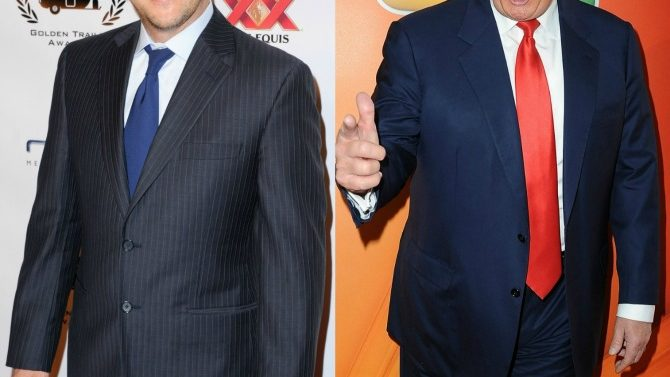 Rob Schneider y Donald Trump