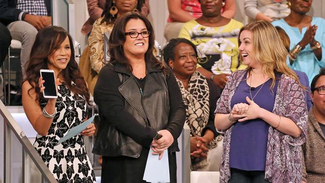 Rosie O'Donnell decide irse de 'The