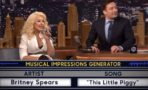 Christina Aguilera Imita Britney Spears
